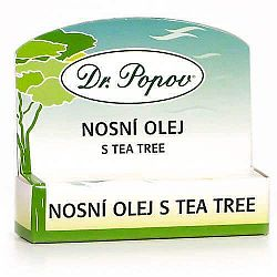 Dr. Popov Nosový olej s Tea Tree roll-on 6 ml