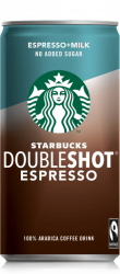 Starbucks No Added Sugar Doubleshot Espresso 0,2l